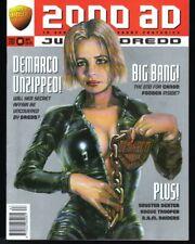 2000 AD Prog 987-995, 997, 999 Hi Grade 11 Issues 9 Full Tales-Dredd Mega Poster