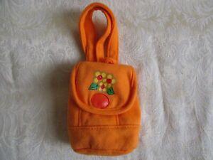Battat Orange Back-Pack with Food for Doll/Bear