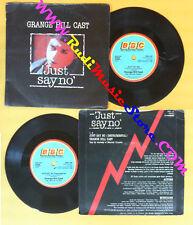 LP 45 7'' GRANGE HILL CAST Just say no 1986 england BBC RESL 183 no cd mc dvd*