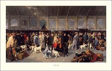 "ENGLISH IRISH SETTER POINTER GUNDOG DOG ART PRINT  ""Going North"" by George Earl"
