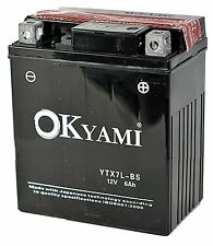 Batteria Okyami YTX7L-BS Honda SH i - 125 dal 2005 - 2008