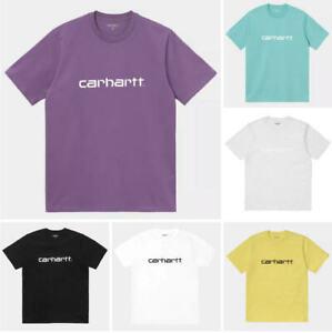 New Mens T-Shirt Ex Carhartt WIP Short Sleeve Crew Neck XS S M L XL XXL rrp £30