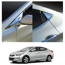 Chrome A+C Side Pillar Molding Garnish Trim for Hyundai Elantra 2011-2016