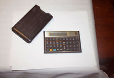 HP 12C LCD Financial Pocket Calculator w Case Made in USA