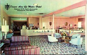 Postcard Desert Are Motor Hotel in Alamogordo, New Mexico~137249