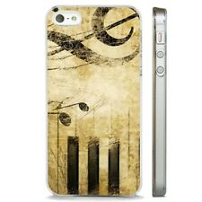 Music Piano Notes Chords CLEAR PHONE CASE COVER fits iPHONE 5 6 7 8 X