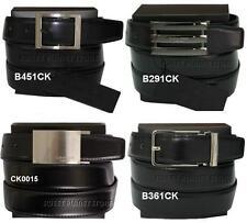 cintura-belt uomo pelle Calvin Klein reversibile - bicolore