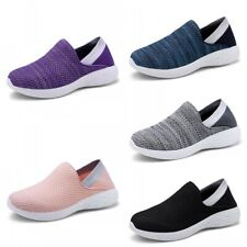 Womens Mens Casual Loafers Walking Shoes Sport Slip-On Running Sneakers Comfy D
