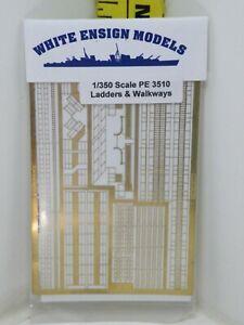 1/350 WHITE ENSIGN MODELS PE 3510 LADDERS & WALKWAYS  PHOTO ETCH .BK2