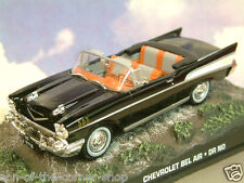EXCELLENT DIECAST 1/43 JAMES BOND 007 CHEVROLET CHEVY BEL AIR FROM DR NO 1962