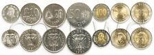 ECUADOR 7 COINS SET 1988-1997 UNC (#801)