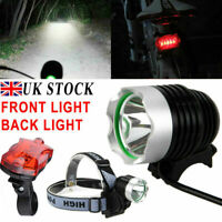 CREE XML T6 LED 1800 LM Cycling Front Bike Bicycle Head Light Headlamp Torch UK