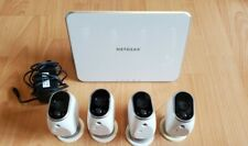 Arlo VMS3430-100NAR Security Camera System 4 HD Wire-Free Cameras + base station