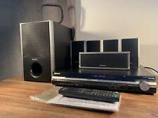 Sony DAV-DZ260 Home Cinema Theater System 6 Speakers Sub Woofer Surround Sound