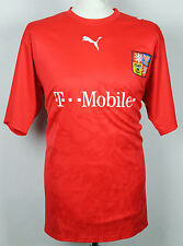 VINTAGE CZECH REPUBLIC HOME FOOTBALL SHIRT RARE PUMA 06-08 MENS XL T-MOBILE