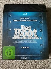 Das Boot Steelbook Germany language/subtitles only! Will not play on Us players!