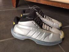 best quality 396e6 d9e65 Adidas 2000 OG Kobe Bryant Kobe 1 Silver SZ 12 As Is For Restoration Only