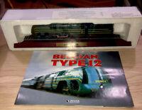 ATLAS SNCB 12 CLASS BELGIAN TYPE 12 MODEL TRAIN ON DISPLAY PLINTH  Locomotive