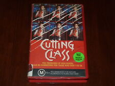 Cutting Class VHS 1980's Horror Vestron Video PAL