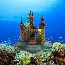 Aquarium Resin Royal Tower Castle Fish Tank Ornament Fish Shrimp Decoration