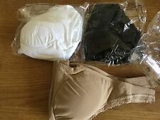 Womens Lift Aire Bra Delux set 3pk By Slim'n Size M changeable pad