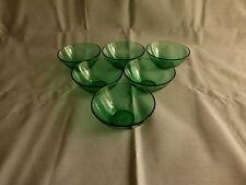 6 bols en verre,huilor,vintage
