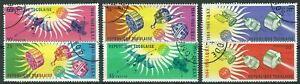 Togo - Jahre der ruhigen Sonne Satz gestempelt 1964 Mi. 446-451