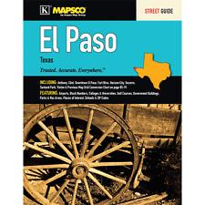 El Paso TX Mapsco Street Atlas