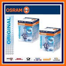 2x OSRAM ORIGINALE LINEA H4 12V 60/55W FARI ANABBAGLIANTI & FIAT DAIHATSU