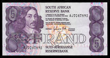 World Paper Money - South Africa 5 Rand Nd 1989-90 P119d @ Crisp Xf-Au Ref.# 892