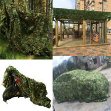 Military Woodland Camouflage Camo Net Netting Camping Hunting Hide Shade