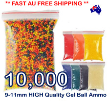 9-11MM GEL BALL AMMO GEL BALL BULLETS GEL BALL GUN AMMO BLASTER AMMO TOY GUN AMO