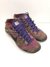"Nike Free Flyknit Chukka ""Fireberry"" Athletic Shoes Men Size 11"
