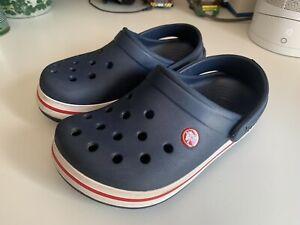 Crocs - Kids - Crocband - Navy/White - Size 3 Junior