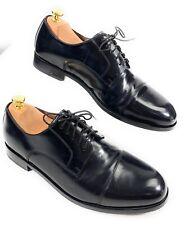 Florsheim Broxton Cap Toe Lace Up Oxford Dress Shoes 11222-001 Black Men's 10D