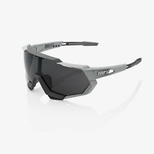 Ride 100% Percent Speedtrap Soft Tact Stone Grey - Smoke Lens