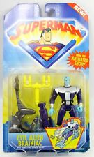 Evil Alien Brainiac & Space Sled Superman Animated Show Action Figure 1996