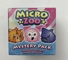 Micro Zoo Mystery Pack Contains 1 MicroZoo Plush New