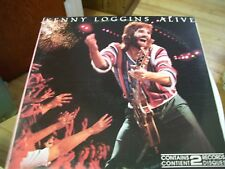 KENNY LOGGINS ALIVE-2 LP-NM-COLUMBIA-PICTURE GATEFOLD-INNER PICTURE SLEEVES
