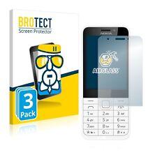 3x Nokia 230 AirGlass Glass Screen Protector Ultra Thin Protection Film Flexible