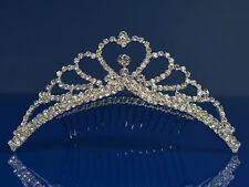 SparklyCrystal Princess Bridal Wedding Tiara Comb 48105