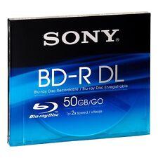 Sony bnr50a Blu-ray 50gb Blu-ray Doble Capa almacenaje media + VAIO Etiqueta