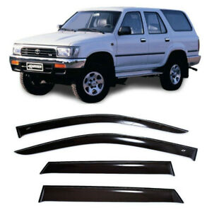 For Toyota 4Runner ll 5d 1988-1995 Window Visors Sun Rain Guard Vent Deflectors
