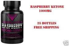 25 Bottle Absonutrix Raspberry Ketone1000mg 100% Pure thermogenic weight loss