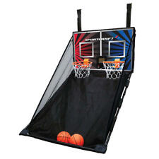 Basketball Electronic Scoring Double Hoop Arcade Game Over The Door 2 Player Toy