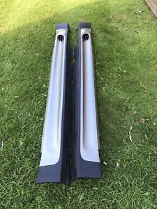 Mini R56 JCW Cooper S Pair of Side Skirts in Sparkling Silver Metallic