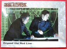 BATTLESTAR GALACTICA - Premiere Edition - Card #60 - Beyond the Red Line