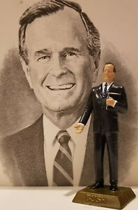GEORGE BUSH FIGURINE - ADD TO YOUR MARX COLLECTION