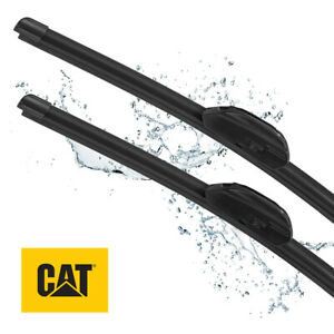 CAT Clarity Premium Replacement Windshield Wiper Blades 20 + 20 Inch (2 Pcs)