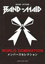 BAND-MAID WORLD DOMINATION Band Score Members Selection ese w/Tracking